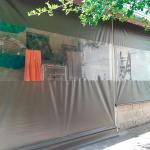 Toldo cortina enrolável